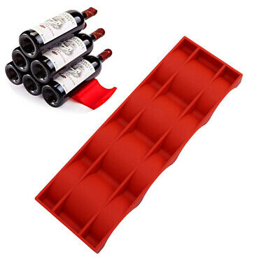 2x Novelty Portable Fridge Can Beer Wine Bottle Rack Holder Stacking Tidy Tool
