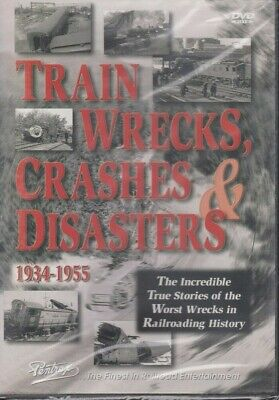 Train Crashes & Disasters 1934-1955