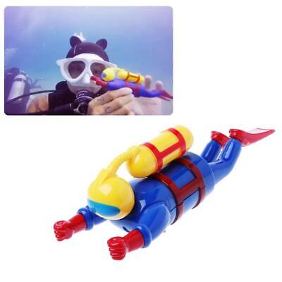 2018 New Swimmers Scuba Diver Toy Wind Up Clockwork Sea Baby Bath Toy Kids Toy y