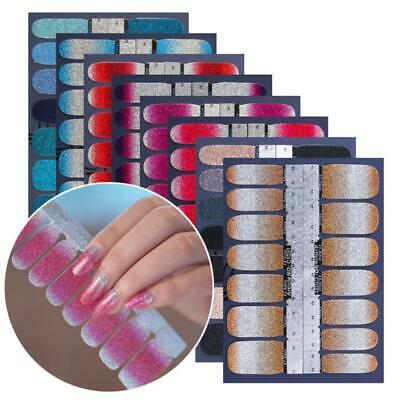 Nails Strips Spring Glitter Solid Clear Patriotic Pedicure Nails Strickers Hot