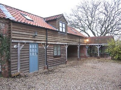 7 Night November  December Holiday Cottage Self Catering Norfolk Broads Norwich
