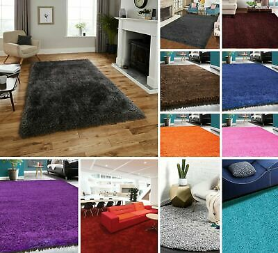 Shag Rug Soft Small X Large Shaggy Pile 5cm Thick Area Carpet Runner Living Room