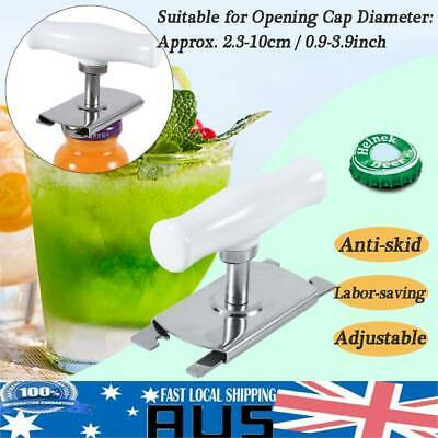 Adjustable Bottle Opener Bar Beer Tool Labor-saving For 2.3-10cm Bottle Cap