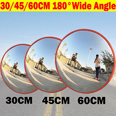 Wide Angle Security Curved Convex Road Mirror Traffic Driveway Blind Spot Safety