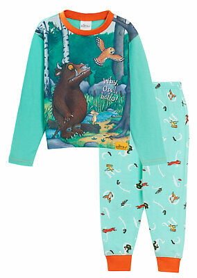 The Gruffalo Boys Girls Pyjamas Kids Full Length Character Pjs Set Nightwear