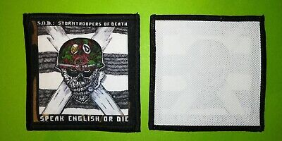Pl0181 Ecusson Patches Aufnaher Toppa - A Coudre 10*10 Cm Stormtroopers Of Death