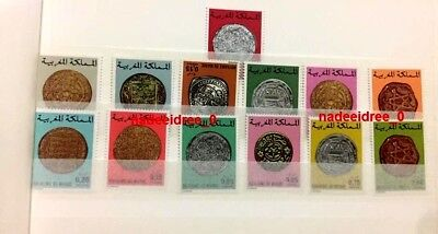 Morocco Mnh Different Years Old Ancient Coins Islamic Islam Roman Gold Silver Rr