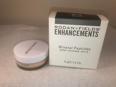 Rodan and Fields Enhancements Mineral Peptides SPF 20 Light EXP 5/2020 NEW (P32)