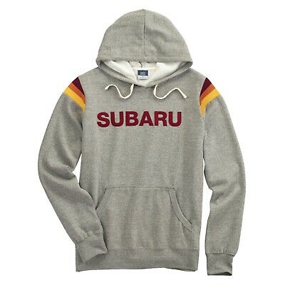 Subaru Logo Sarge Fleece Pullover Official Sti Ascnet Forester Outback Hoodie +
