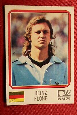 Panini MUNCHEN 74 N 95 DEUTSCHLAND FLOHE WITH BACK VERY GOOD CONDITION!
