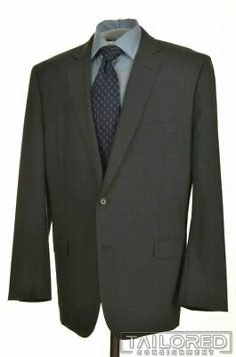 BROOKS BROTHERS Fitzgerald Gray BrooksCool Wool Jacket Pants SUIT Mens - 48 R