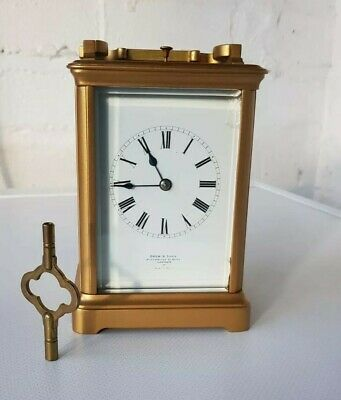 Antique French Ormolu Four Glass Repeat Carriage Clock