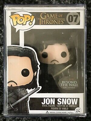 Funko Pop! 07 Game Of Thrones Beyond The Wall Jon Snow Exclusive Rare Vaulted