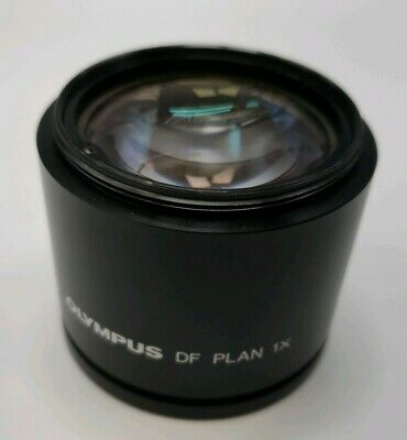 Olympus Microscope Objective DF Plan 1X 50mm Diameter Lens