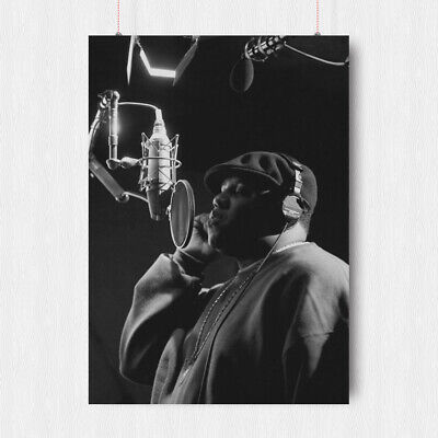 The Notorious Big Rapper Poster Print A3 A4 Size