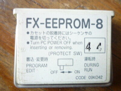 1 PCS Mitsubishi PLC memory card FX-EEPROM-8 in good condition