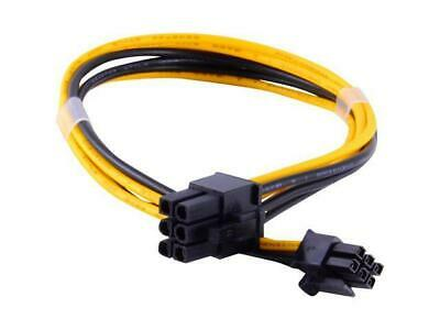 Male 6 pin to 6 pin PCI-e Power Cable for Video GPU Cards Miners ASIC pcie