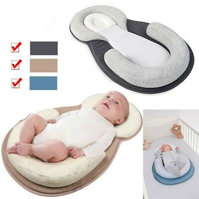 Baby Pillow Infant Newborn Cushion Prevent Flat Head Sleep Nest Pod Anti Roll