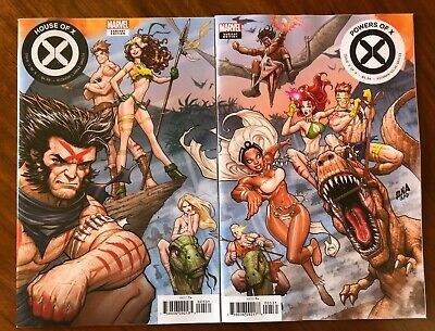 HOUSE OF X 5, POWERS OF X 5 - Nakayama Connecting Variant | 2 book SET Near Mint