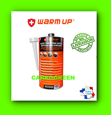 Nettoyant Injecteur Diesel Warm Up 1L Additif Carburant Formule Professionnelle