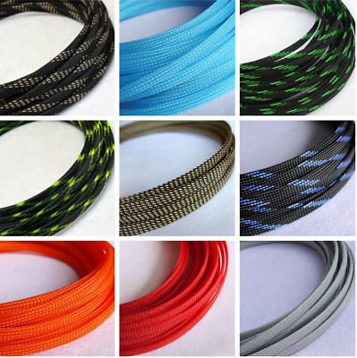 TIGHT Braided PET Expandable Sleeving Cable Wire Sheath 2MM-16MM Wide