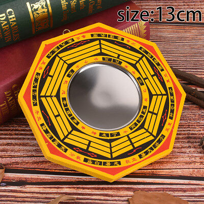 "5"" Inch Chinese Dent Convex Bagua Mirror Blessing House Protection Feng Shui  qx"