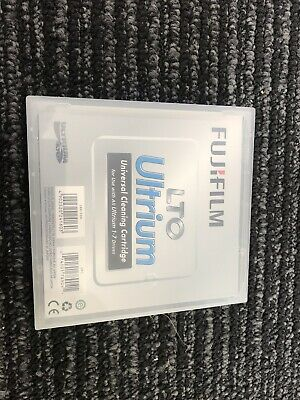 Brand New Never Open Fujifilm LTO Ultrium Universal cleaning cartridge 1-7