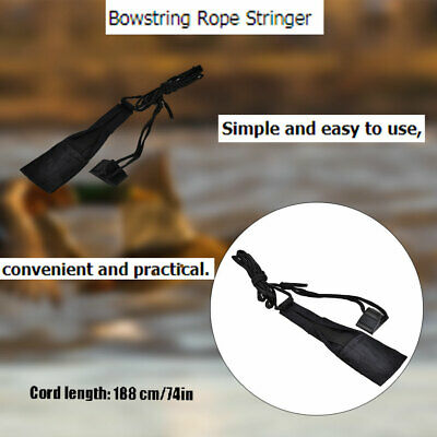 Bowstring Rope Repair String Stringer Tool for Recurve Bow Takedown Archery