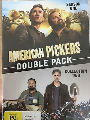American Pickers One 1 and Two 2 season series DVD R4 BRAND NEW/SEALED