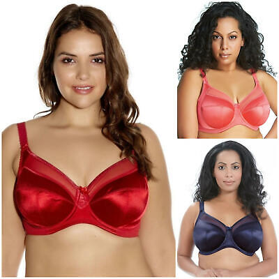 Goddess Keira Underwired Full Cup Supportive Banded Bra 6090 New Lingerie