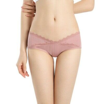 Pregnant Women Cotton Underwear U-Shaped Low Waist Maternity Briefs Panties Pant