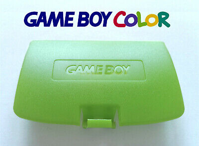 Cache Piles pour Game Boy Color NEUF couleur Vert clair / light green