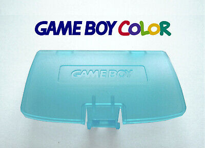Cache Piles pour Game Boy Color NEUF couleur bleu transparent / clear blue