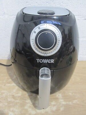 Tower T17005 3.2L Black LOW FAT Air Fryer Healthy Eating