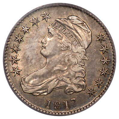 1817 50C Capped Bust Half Dollar PCGS XF45 (CAC) O-110