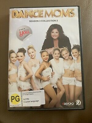 Dance Moms : Season 3 : Collection 2 (DVD, 3-Disc Set) - UK COMPATIBLE