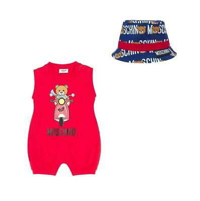 Completo Love Moschino baby rosso ss19