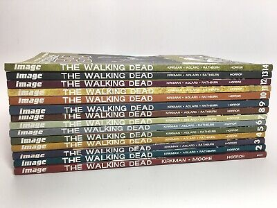 The Walking Dead (Twd) Lot #1-14 - Image Comics - Good Cond - Free Shipping