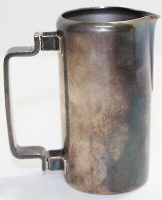 Cream Pitcher SilverPlated Meneses Spain, Midcentury