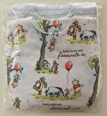 Disney Baby Bib And Burp Cloth Gift Pack WINNIE THE POOH Handmade. 4 Piece.