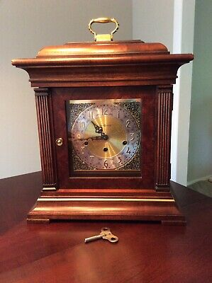 Howard Miller 612-436 Mantle Clock, Triple Chime + Silent Feature.