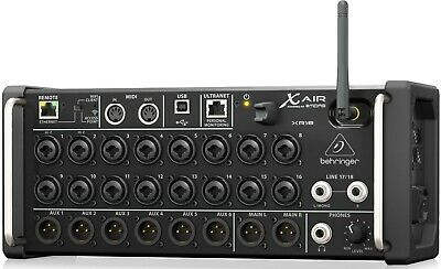 Behringer X AIR XR18 18-Channel, 12-Bus Digital Mixer for iPad/Android Tablets