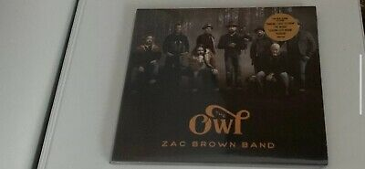 Brand New Zac Brown Band Cd Factory Sealed 2019 Country The Owl Unopened