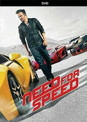 Need For Speed (DVD) Aaron Paul NEW Factory Sealed Free Shipping