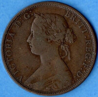 Canada Nova Scotia 1862 1 Cent One Large Cent Coin - Key Date - Very Good