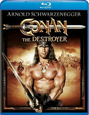 Conan the Destroyer (Blu-ray Disc, 2011) NEW Factory Sealed, Free Shipping