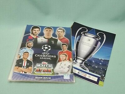 Topps Match Attax Champions League 2019/2020  Sammelmappe Mappe Binder