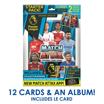 Match Attax 2018/19 18/19 Superstar Limited Edition Cards + Extra Sterling