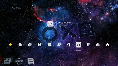 Symbols in the Stars - Gamescom 2019 Exclusive PS4 Dynamic Theme DLC / EUROPE