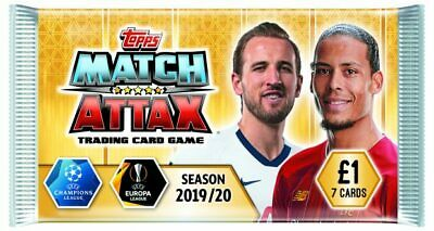Match Attax 2019/20 Topps Man Of The Match & Most Valuable Player Mvp